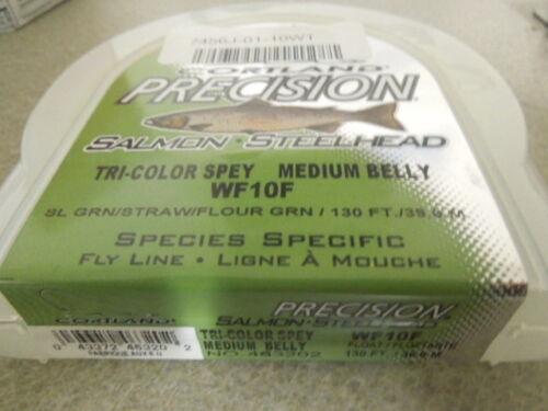 Cortland Precision Tri Color spey WF10F Flyline floating med belly