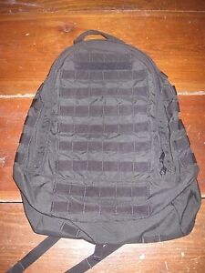 how to attach a day pack to a back pack