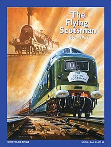 The Flying Scotsman 1862-1962 Eisenbahn Kühlschrank Magnet Og
