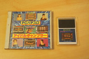 PC-Pachislo-Idol-Gambler-nec-PC-Engine-Juegos-Express-Importado-De-Jap-Cip