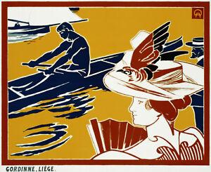 Vintage-POSTER-Stylish-Graphics-Italy-Venice-Sea-Bar-Room-Art-Decor-616