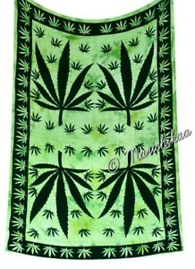 Details About Cannabis Tapestry Twin Marijuana Wall Hanging Hippie Throw Weed Leaf Wall Decor