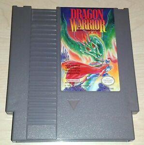 Dragon Warrior 1 one Nintendo NES Vintage classic original retro game cartridge