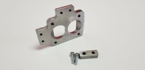 """Stainless T4 Divided to 2.0/"""" Twin Ports Collector Inlet Turbo Flange Tab S300"""