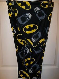 Image is loading Batman-Fleece-Sleep-Lounge-Pajama-PJ-Pants-Mens- 38d7508a5