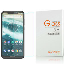 JIANGNIUS Screen Protectors 25 PCS Full Screen Full Glue Anti-Fingerprint Tempered Glass Film for Motorola One Power Color : Black P30 Note Black