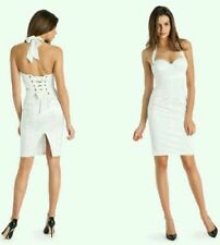 GUESS by Marciano White Susanas Bustier Lace Up Corset Dress 2