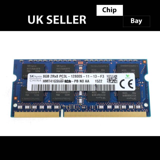 SK Hynix DDR3 8GB 2Rx8 PC3L-12800S Laptop RAM Memory Module