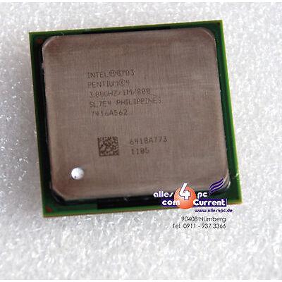Plus Rapide CPU avec 1024 Ko Cachette Pentium-Iv 3000/800 Bus Sl7e4 Prise 478