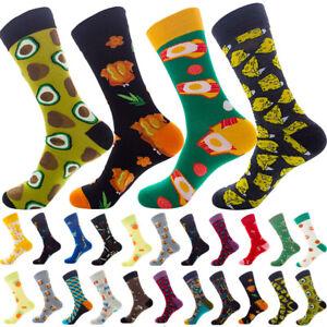 NEW-Men-Women-Casual-Socks-Novelty-Socks-Animal-Colorful-Funny-Cotton