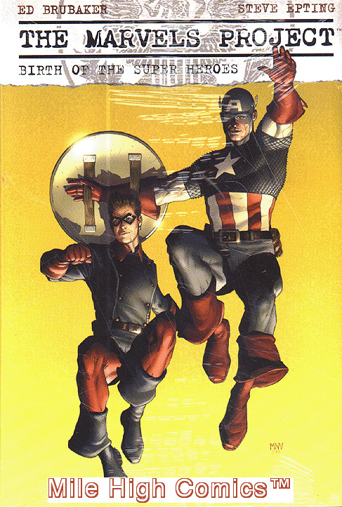 MARVELS PROJECT: BIRTH OF THE SUPER HEROES HC (2010 Series) #1 Very Fine