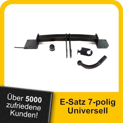 AHK Anhängerkupplung starr+ES 7p uni Für BMW 3er Stufenheck E90 05-12 Kpl