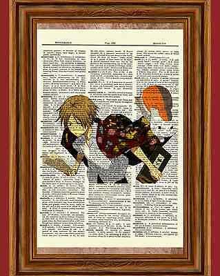 Natsume Yuujinchou Anime Dictionary Art Print Poster Picture Japanese Manga