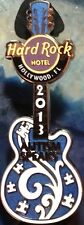 Hard Rock Hotel HOLLYWOOD FL 2013 Autism Speaks GUITAR PIN Puzzle Pieces LE 200!
