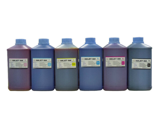 Bulk refill Dye ink for HP 81 C4930A DesignJet 5000 5500 Printer 6 Liters