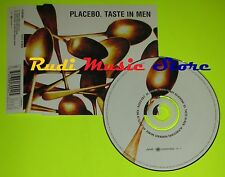 CD Singolo PLACEBO Taste in men Eu 2000 VIRGIN RECORDS FL00RCDF11   mc dvd (S7)