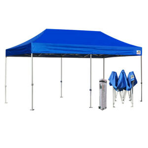 Ez Up Canopy 10x20 >> Details About Heavy Duty 10x20 Ez Pop Up Canopy Commercial Party Wedding Outdoor Instant Tent