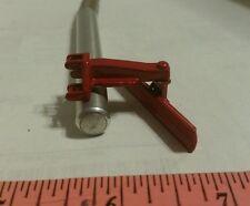 1/64 ERTL custom farm toy red 3pt moveable rear back blade grader metal display!