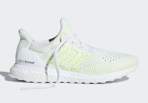 eb33dd182e0d0 Adidas Running Ultra Boost Clima White Solar Yellow Men Lifestyle ...