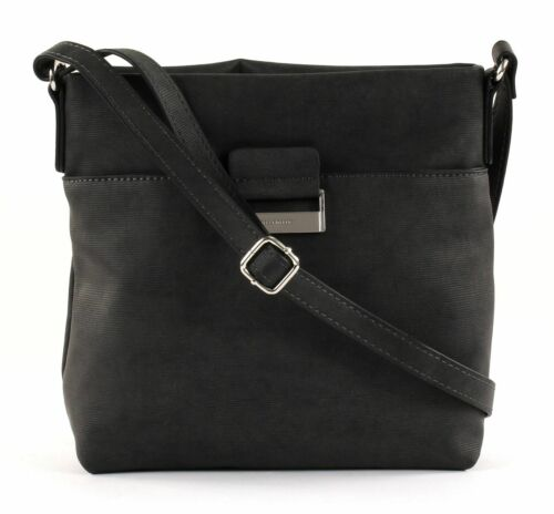 GERRY WEBER Be Different Shoulderbag MVZ Umhängetasche Tasche Dark Grey Grau