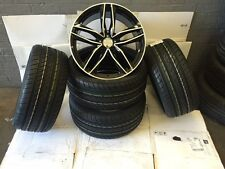 "19""rs6 c bp alloy wheels vw golf audi/vw/tt/t4/a4/a3/a6/skoda/seat with tyres"
