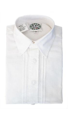 Kindertrachtenhemd Langarm Willi in Weiß von St Peter Tracht /& Country