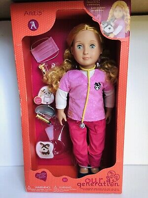 """18/"""" doll nurse doctor blood pressure monitor for American Girl Our Generation"""