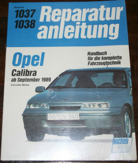 Repair Manual Vauxhall Calibra from Year 1989