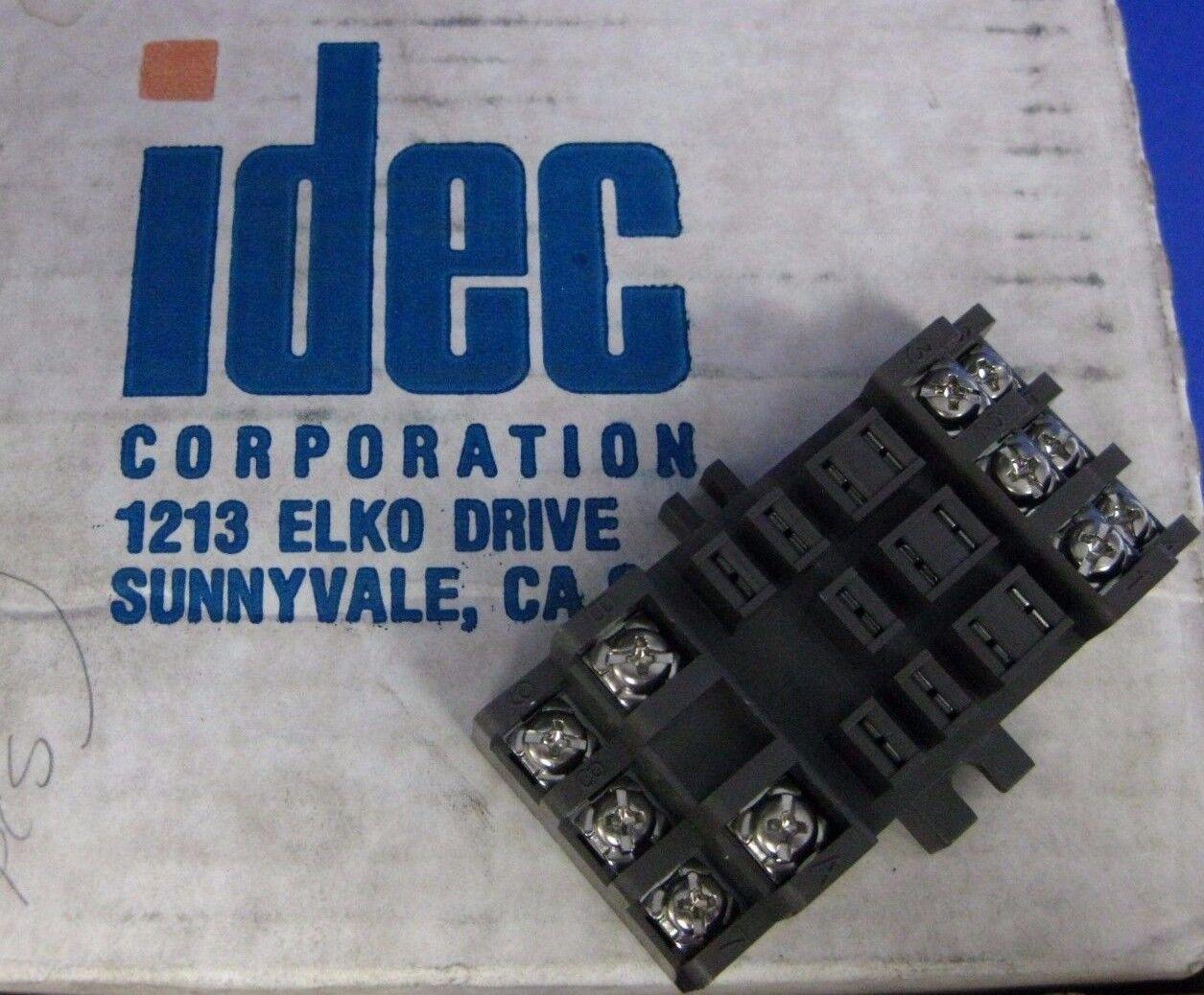 Idec Sr3b 02 1 Pkg 300v 15a 11 Pin Socket Relay Ebay Elko Current Rescontentglobalinflowinflowcomponenttechnicalissues
