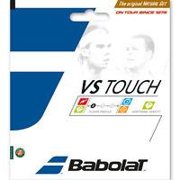 BABOLAT VS TOUCH 16 natural gut tennis racquet string - Half Set - Auth Dealer