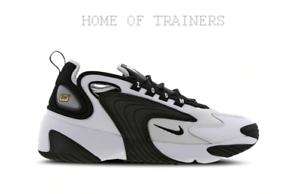 Détails sur Nike Zoom 2K Blanc Noir Blanc De Sport Hommes Toutes Tailles-  afficher le titre d'origine