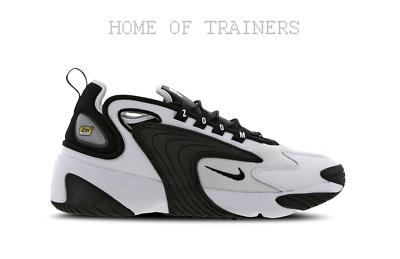 Nike Zoom 2K Blanc Noir Blanc De Sport Hommes Toutes Tailles   eBay