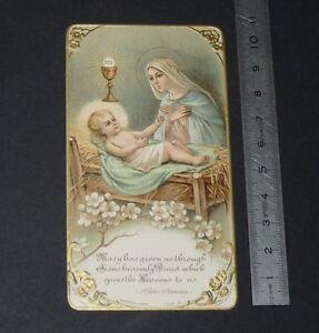 CHROMO 1920-1929 IMAGE PIEUSE CATHOLICISME HOLY CARD RELIGION JESUS MARY EZUjTdOC-09165421-115106269