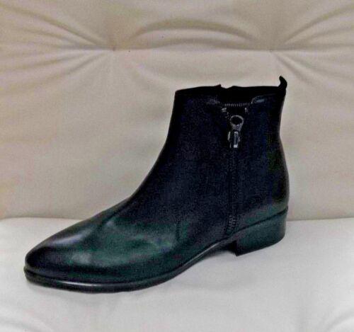 Boots 99 Ankle Bnwb 40 £89 Caprice 5 eu Black Rrp 5 Leather 7 Uk SZZqAf6x