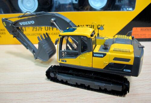 1//50 VOLVO EC220D Alloy Excavator Model Diecast Engineerving Verhicle *