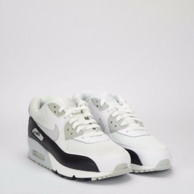 the best attitude 06625 dcefe Nike Air Max 90 Essential Men s Shoes White Pure Platinum   Ex Display