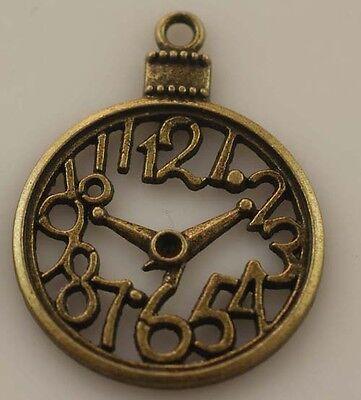Wholesale 4pcs 39.5*30mm Antique Bronze Charms Pendants DIY Jewerlry T0032