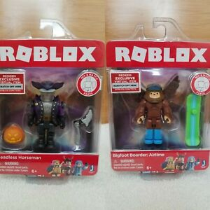 Roblox-HEADLESS-HORSEMAN-Action-Figure-Bundle-W-Exclusive-Virtual-Item-New
