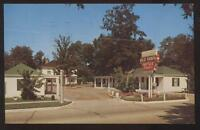 Postcard SHELBYVILLE Tennessee/TN  Blue Ribbon Motel Motor Court view 1950's