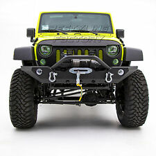 07-17 Jeep Wrangler JK Front Bumper with OE Fog Light Hole & Winch mount plate