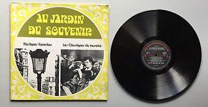 Ref1076-Vinyle-33-Tours-Au-Jardin-Du-Souvenir-Musiques-Favorites-Les-Classiques