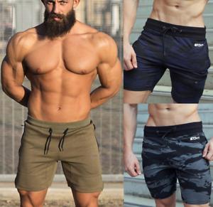 Echt Mens Knit Shorts Gym Fitness Running Training Joggers Knee Length Jogger Uk