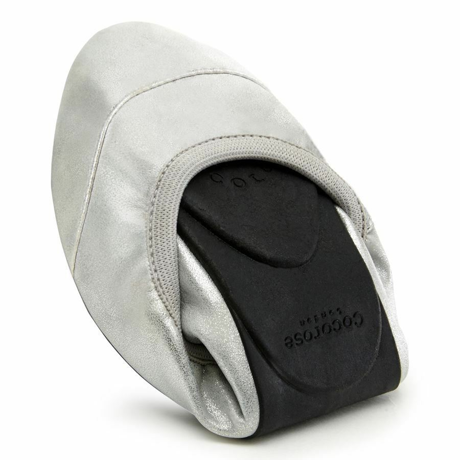 Cocorose Foldable Schuhes - Silver Barbican - Silver - Shimmer 60baed