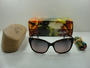 7c9f274907ec Image is loading MAUI-JIM-PLUMERIA-POLARIZED-RS768-10-SUNGLASSES-TORTOISE-