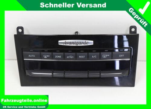 Klimabedienteil Heizungsregler Mercedes E Klasse W212 A2129008708 Avantgarde