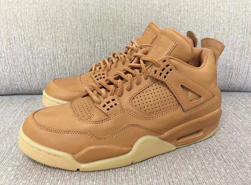 Nike Air Jordan 4 IV Retro Premium SZ 11 Wheat Ginger Gum Pinnacle 819139-205