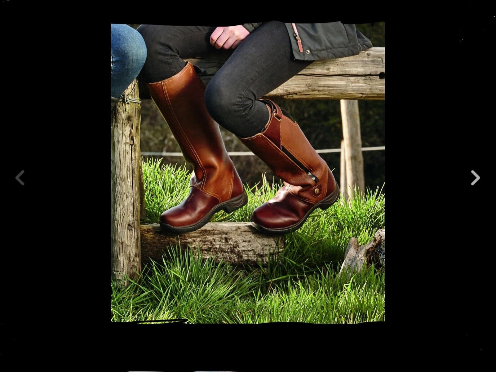 Dublin Wye Full Grain Country Long Leather Riding Boot Waterproof size 8