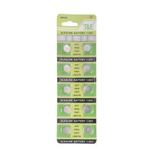 10pcs-Set-395A-926-LR927-SR927SW-LR57-SR927-Alkaline-Button-Cell-Watch-Battery