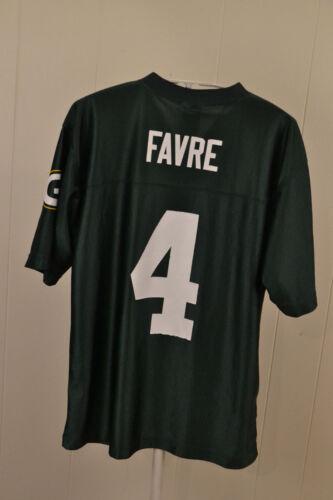 newest ee44e afb9e low-cost Green Bay Packers 4 Brett Favre NFL Jersey Kids ...