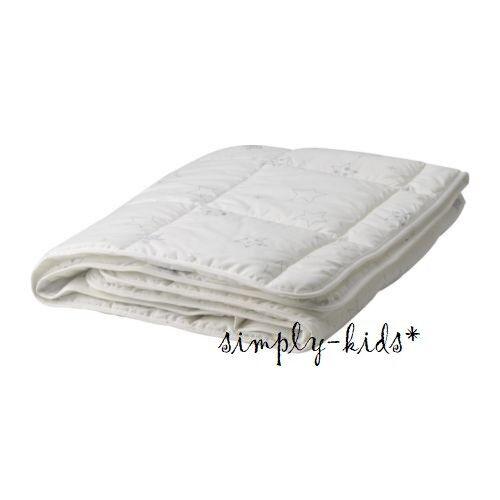 Ikea Len Stjarna Crib Comforter White Kids Bedroom Toddler Bed Duvet Insert Ebay